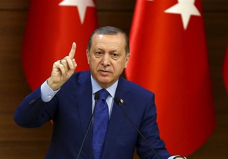 اردوغان گفت: چشم طمع به خاک سوریه نداریم