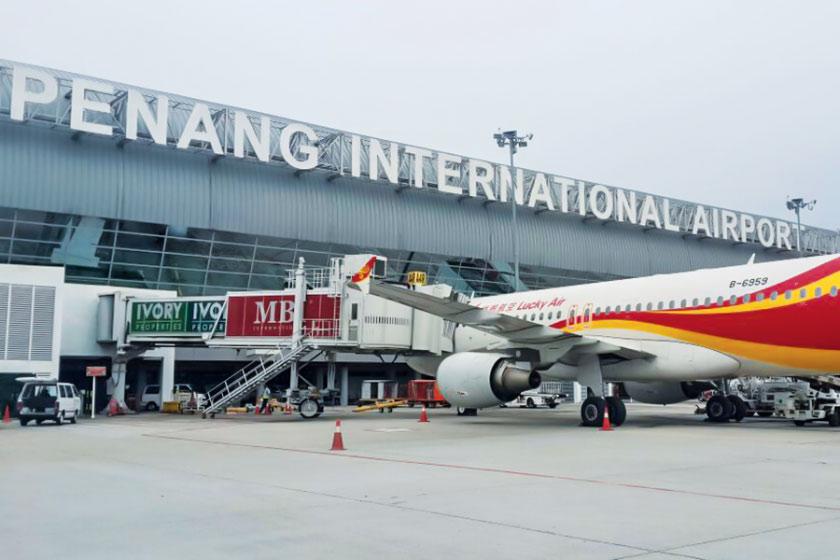 آشنایی با فرودگاه پنانگ مالزی