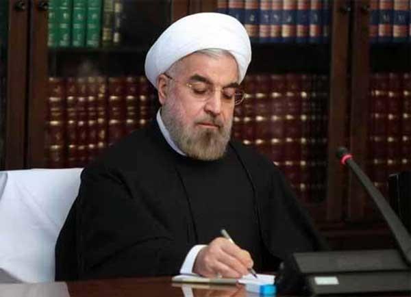 پیغام تبریک حسن روحانی به ولادیمیر پوتین برای پیروزیش در انتخابات اخیر