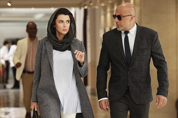 لیلا حاتمی با مردی بدون سایه از اسپانیا به تهران آمد