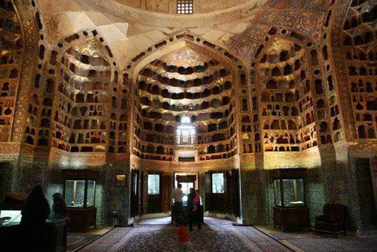 گنبد چینی خانه متعلق به مجموعه جهانی شیخ صفی الدین اردبیلی مرمت گردید