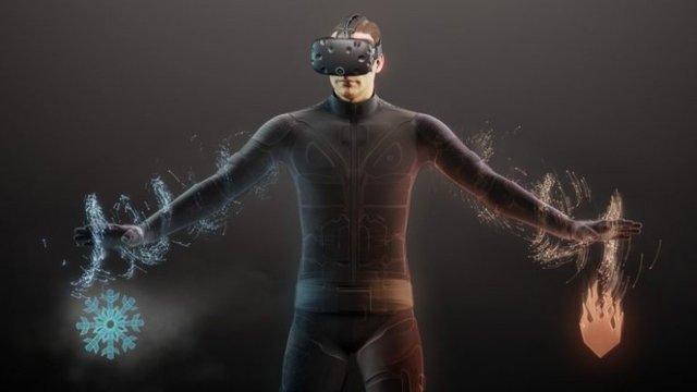 انقلاب در واقعیت مجازی با لباس تسلا