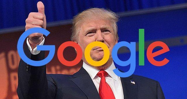 ترامپ این بار با گوگل سرشاخ شد
