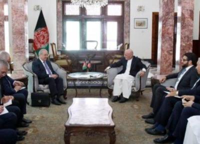 دیدار وزیر دفاع انگلیس با اشرف غنی در کابل