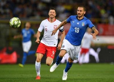 فوتبال دنیا، بونوچی: شتابزدگی در پاسکاری نقطه ضعف مان مقابل لهستان بود، خوب شد که رونالدو مقابل ما بازی نمی کند