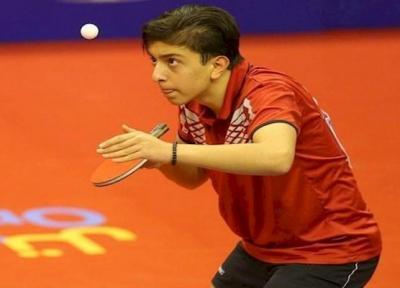 پینگ پنگ باز نوجوان ایران در تیم منتخب آسیا