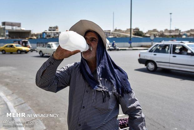 پیش بینی افزایش نسبی دما در خوزستان