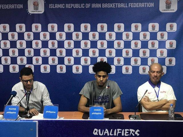بازیکن تیم بسکتبال فیلیپین: بازی خوبی برابر ایران انجام دادیم اما آنها خیلی قوی هستند