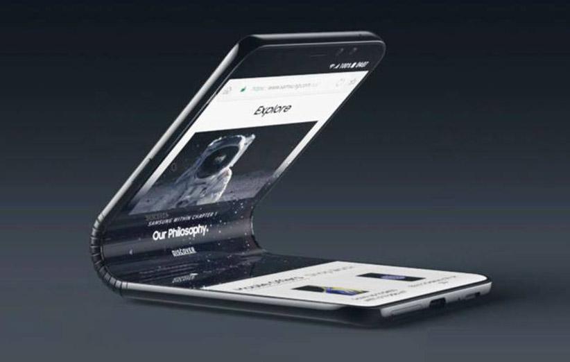 مدل آزمایشی گوشی تاشو لنوو