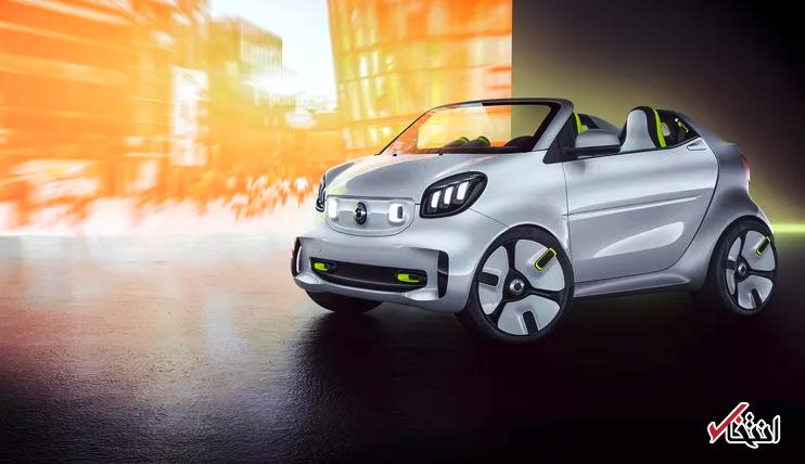 نگاهی به طرح مفهومی یکی از زیباترین خودروهای الکتریکی سال ، طراحی زیبا ، قدرت 80 اسب بخار