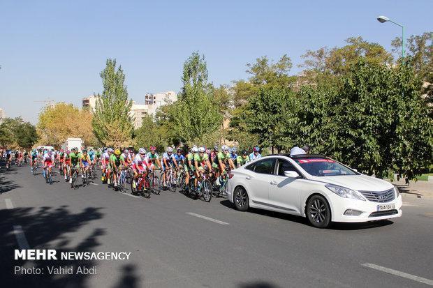مرحله پنجم تور دوچرخه سواری ایران- آذربایجان استارت خورد