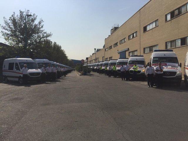 شروع توزیع 700 دستگاه آمبولانس پیشرفته در کشور
