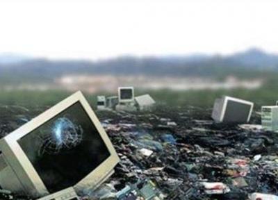 زباله های الکترونیکی رهاشده در 26 صندلی دفن زباله گیلان