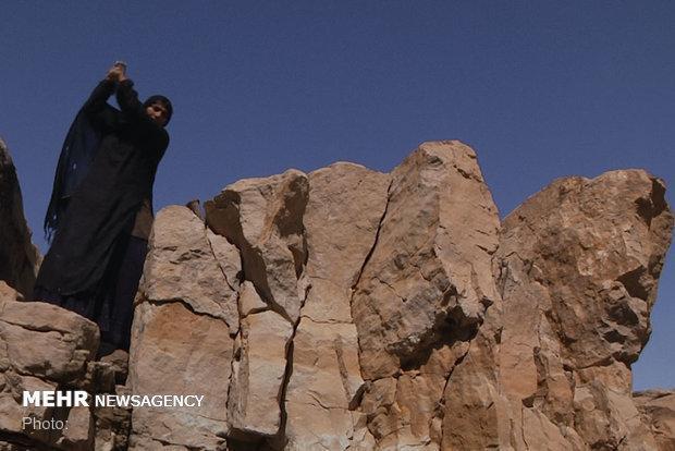 زنی که نانش را از زیر سنگ درمی آورد، نماینده ای ایرانی در اسکار
