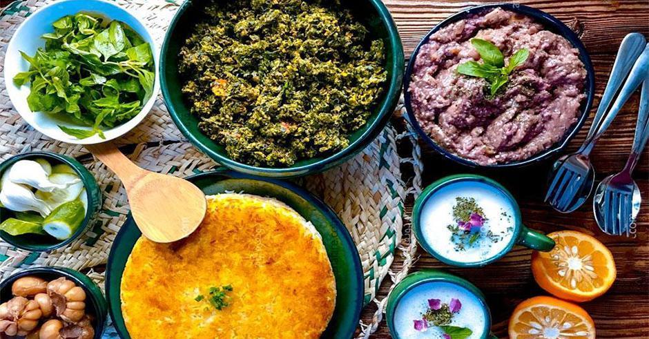 طرز تهیه خورش سیرابیج گیلانی