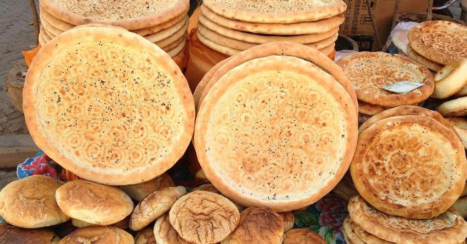 طرز تهیه نان فطیر همدان