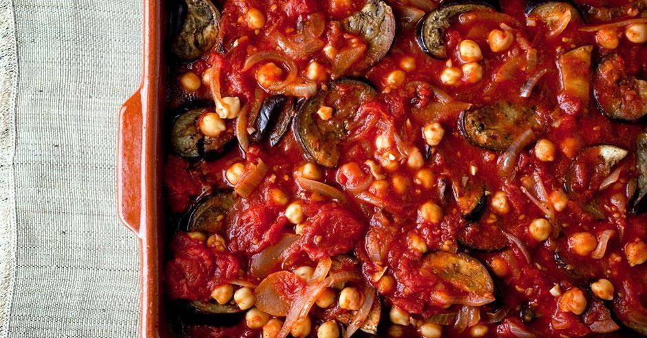 طرز تهیه خوراک گوجه و بادمجان