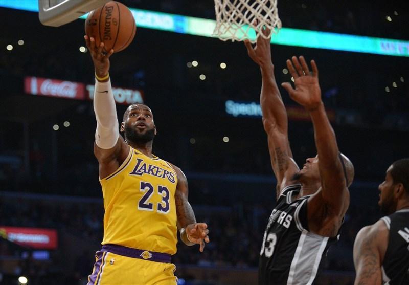 لیگ NBA، نخستین پیروزی جیمز با لیکرز، شکست ویزاردز مقابل وریرز
