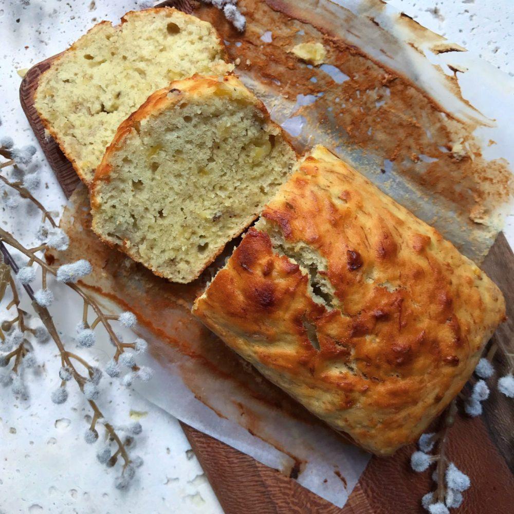 طرز تهیه نان موز مرحله به مرحله