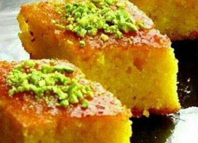طرز تهیه کیک باقلوا ترکی