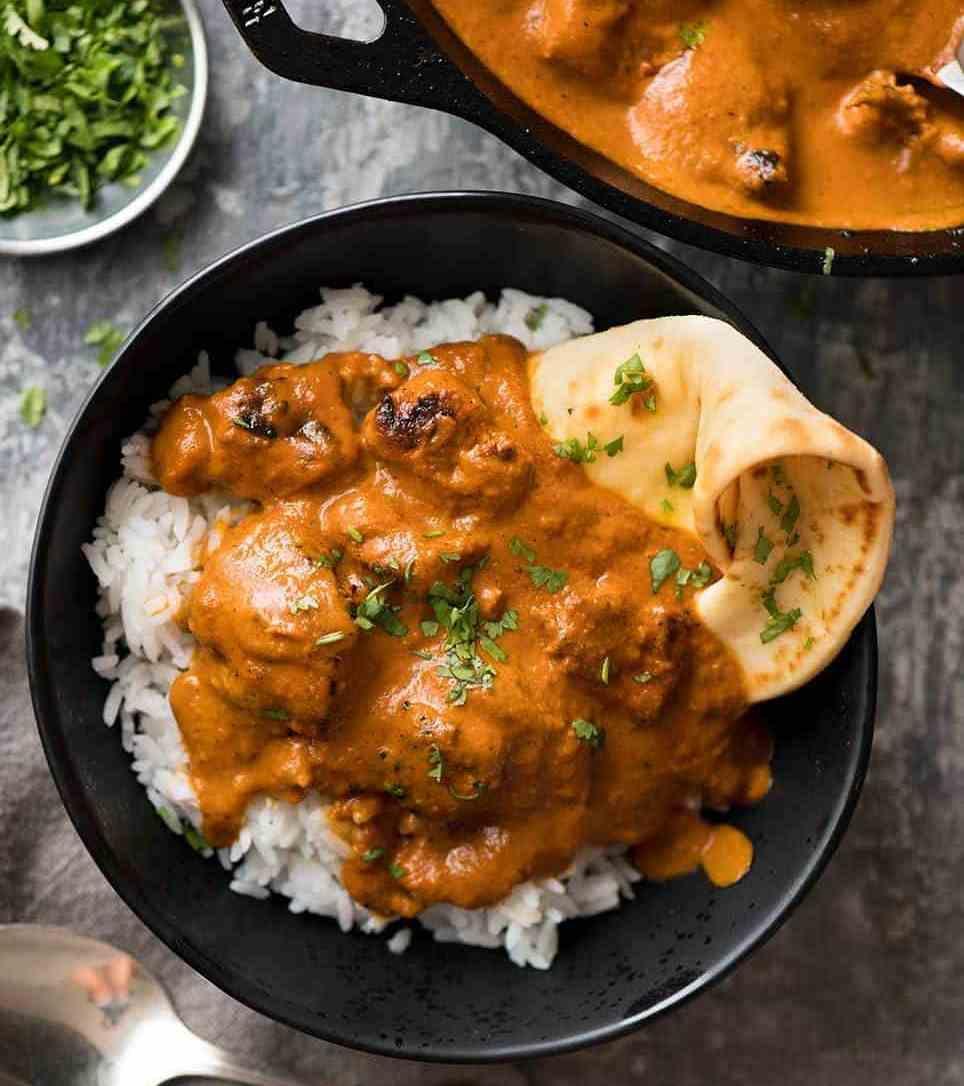 طرز تهیه خورش مرغ کاری با ماست و خامه؛ یک غذای هندی خوشمزه