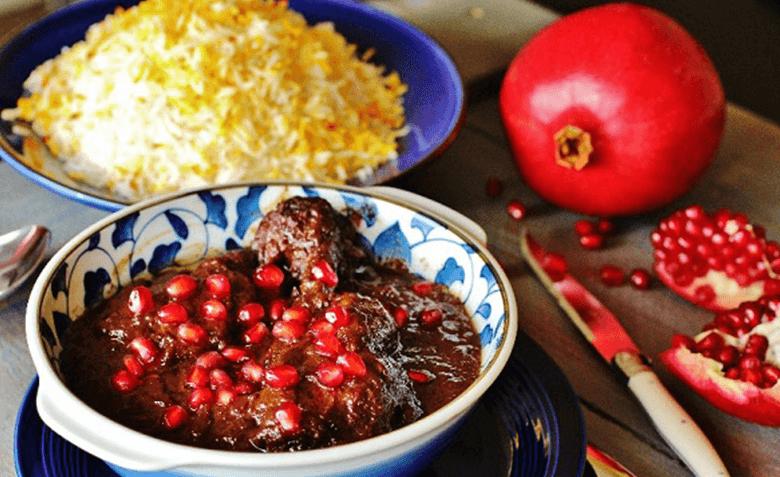 طرز تهیه خورش مرغ ناردون مخصوص شب یلدا