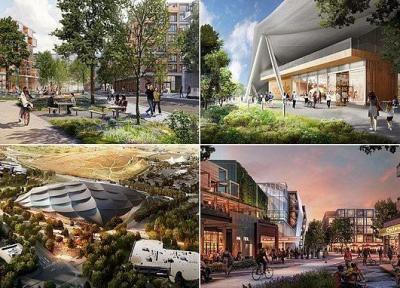 رونمایی از پروژه دهکده گوگل با 8 هزار خانه مسکونی