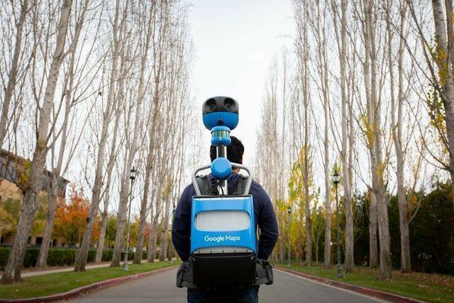 بهبود دید خیابانی گوگل با کوله پشتی جدید!