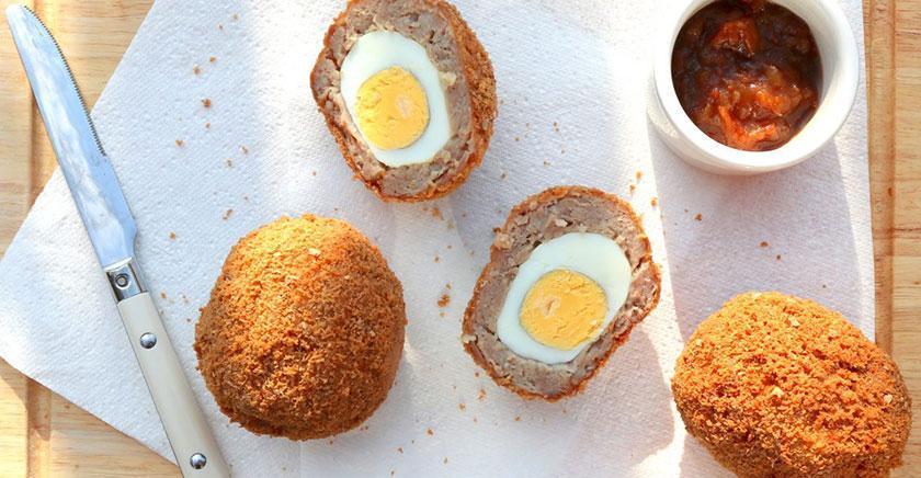 طرز تهیه تخم مرغ سوخاری بدون گلوتن