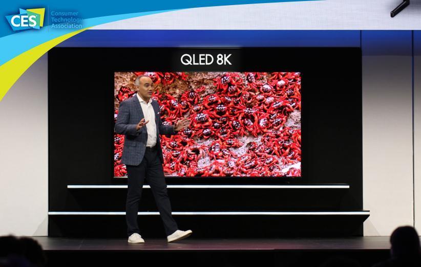 تلویزیون 98 اینچی 8K سامسونگ معرفی گردید