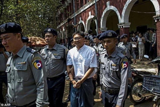 گوترش عفو دو خبرنگار زندانی رویترز در میانمار را خواهان شد