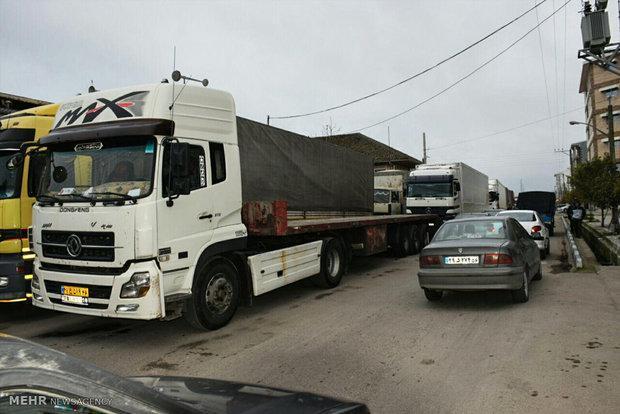 تردد خودروهای سنگین از اول تا یازدهم مهرماه در داخل شهر ممنوع است