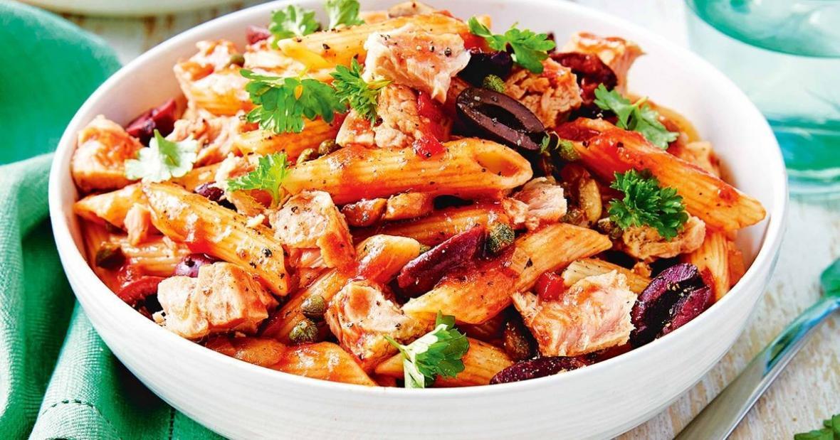 طرز تهیه پاستا ایتالیایی تن ماهی؛ یک غذای خوشمزه، مقوی و آسان