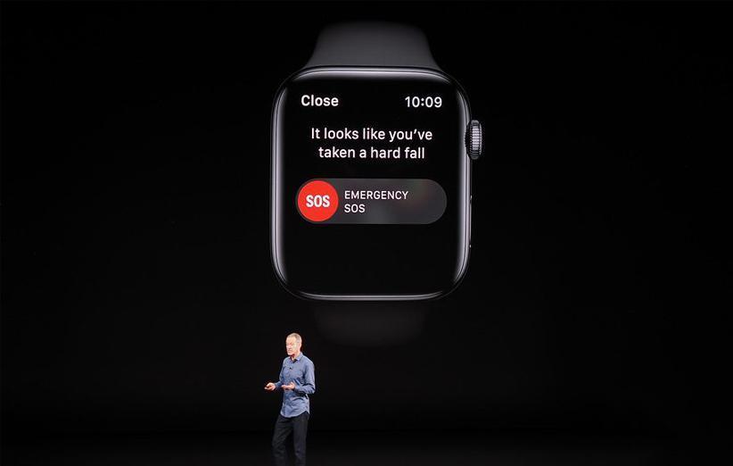فناوری تشخیص افتادن در اپل واچ سری 4 را باید خودتان فعال کنید