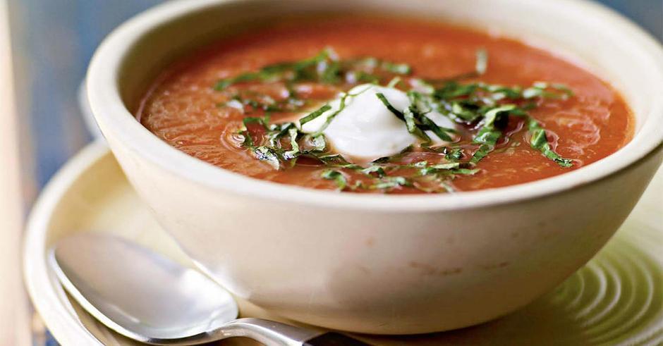 طرز تهیه سوپ سبزیجات سرد مکزیکی