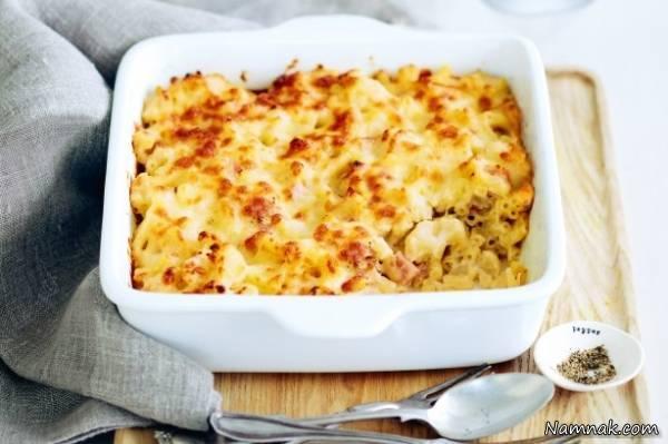 طرز تهیه ماکارونی و پنیر