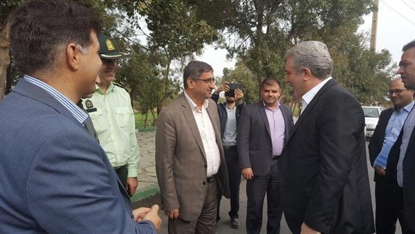 مونسان وارد استان همدان شد