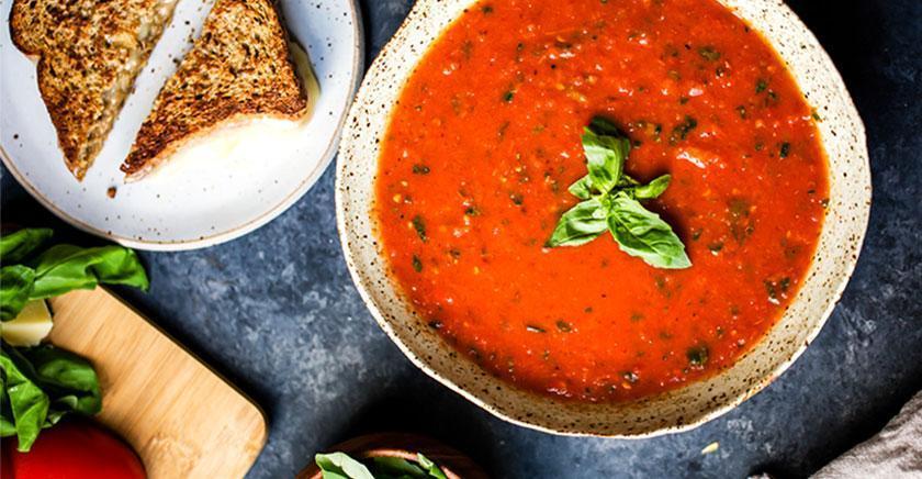 طرز تهیه آش گوجه