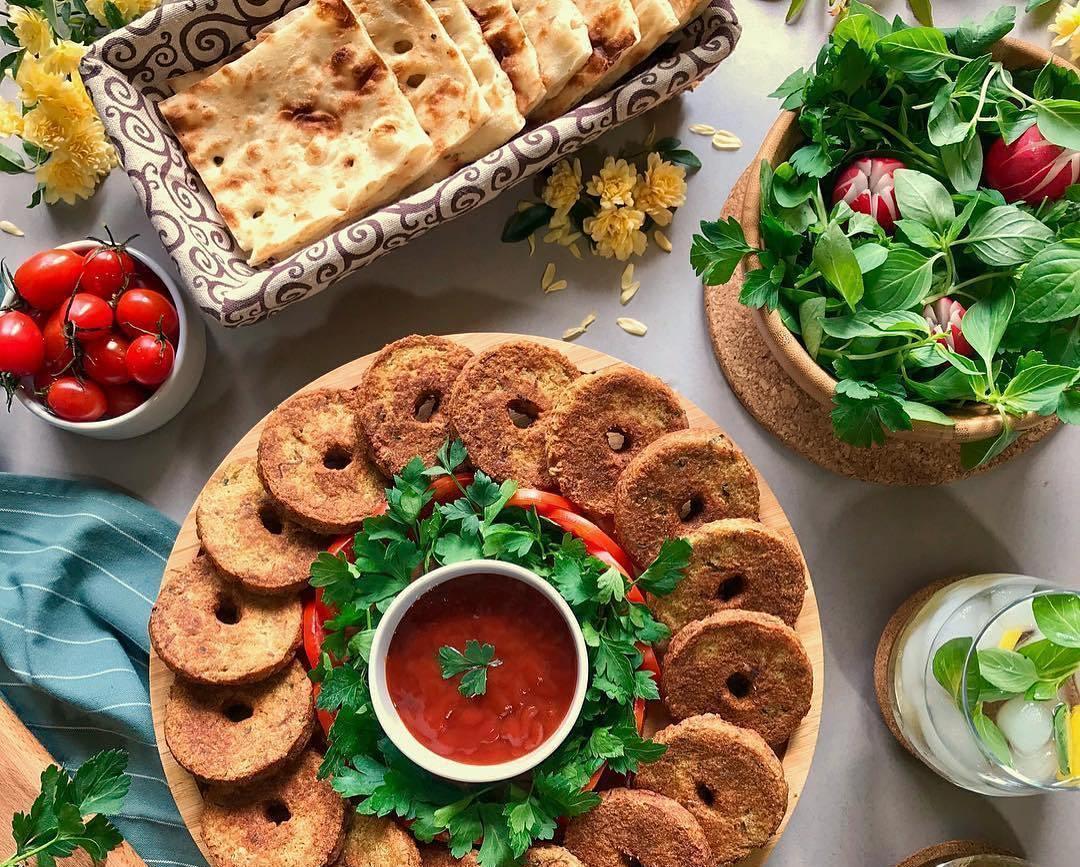 طرز تهیه شامی پوک گیلانی با انواع گوشت
