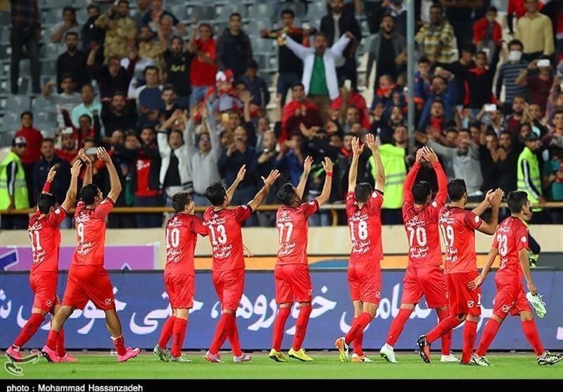 حاشیه دیدار پرسپولیس السد، اشک های بازیکنان پرسپولیس پس از صعود، بیرانوند در آغوش برانکو