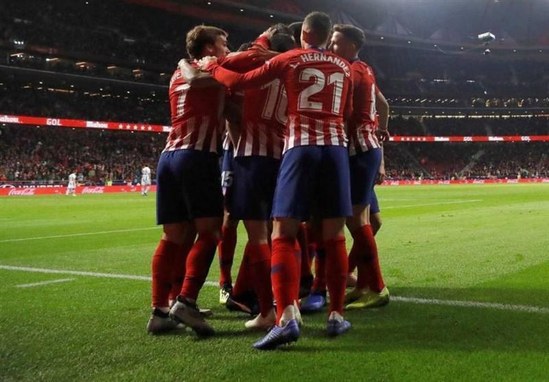 فوتبال دنیا، اتلتیکومادرید با پیروزی موقتا صدرنشین شد