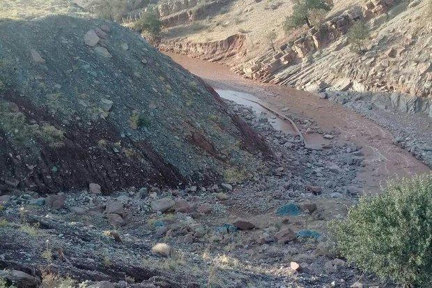 خسارت 2 میلیاردی سیلاب به خط انتقال آب پلدختر، آب 8 روستا قطع است