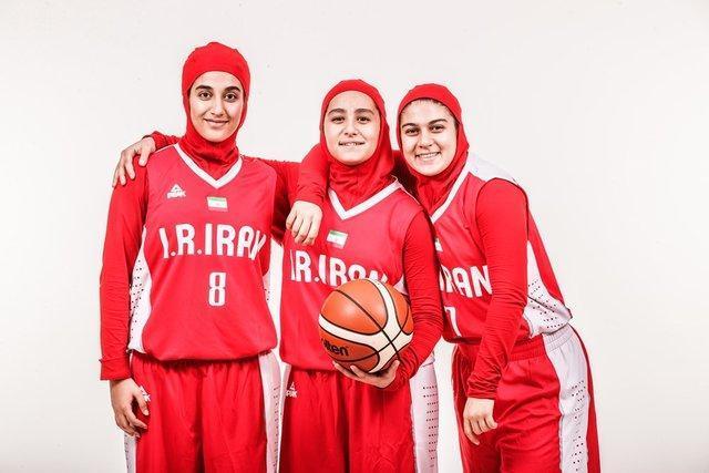 شکست دختران بسکتبالیست ایران در گام نخست قهرمانی آسیا