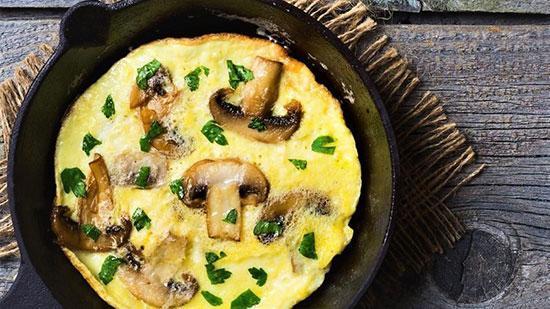 طرز تهیه املت قارچ خوشمزه با روشی متفاوت