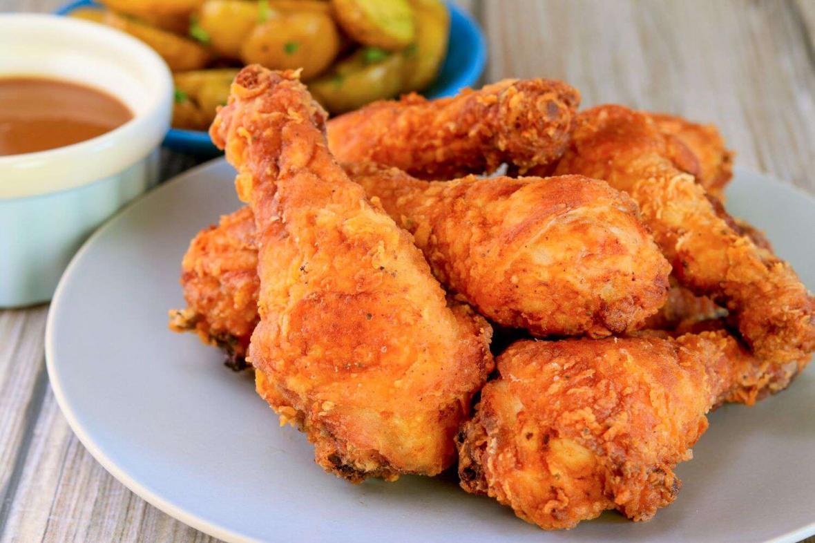 طرز تهیه بسیار آسان مرغ کنتاکی رستورانی به روش KFC در منزل
