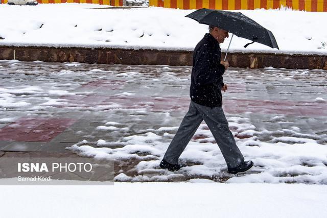 برف در راه چهار استان
