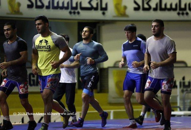 ترکیب تیم ملی کشتی آزاد امید در رقابت های جهانی رومانی