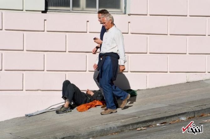 تقابل ثروت و فقر در سیلیکون ولی به مرز هشدار رسید ، خودروهای لوکس در خیابان و بی خانمان ها در پیادرو