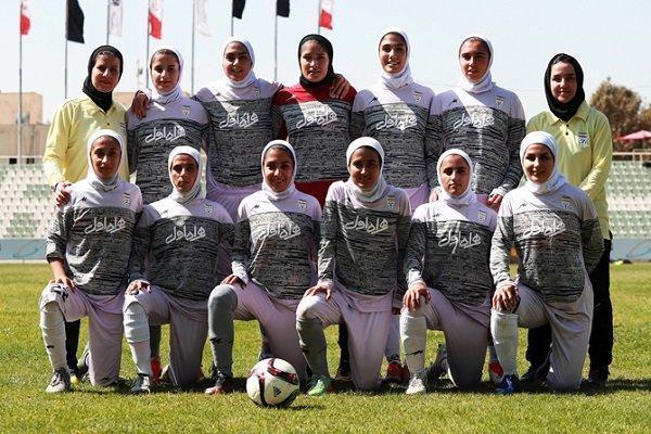 افغانستان حریف نخست تیم ملی فوتبال بانوان در رقابت های کافا