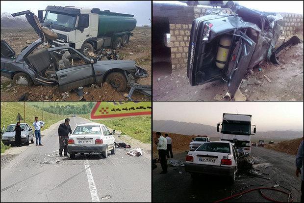 2 حادثه تصادف در کندوان و بلده 4 فوتی داشت